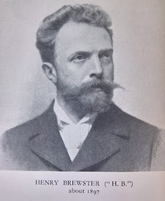 Henry Brewster from the frontispiece of Ethel Smyth's 1930 edition of his 'The Prison: A diagloue'