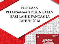 Pedoman Hari Lahir Pancasila Ke-73 Tahun 2018