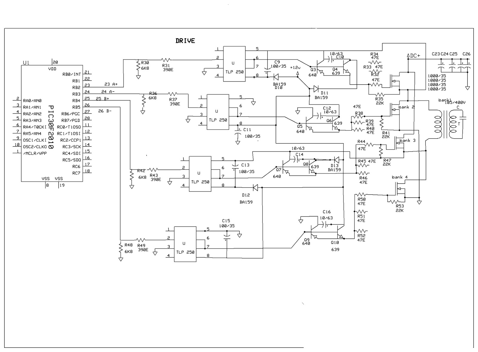 Able Electronic Designs and Concepts DSP30F2010 PURE SINE WAVE INVERTER