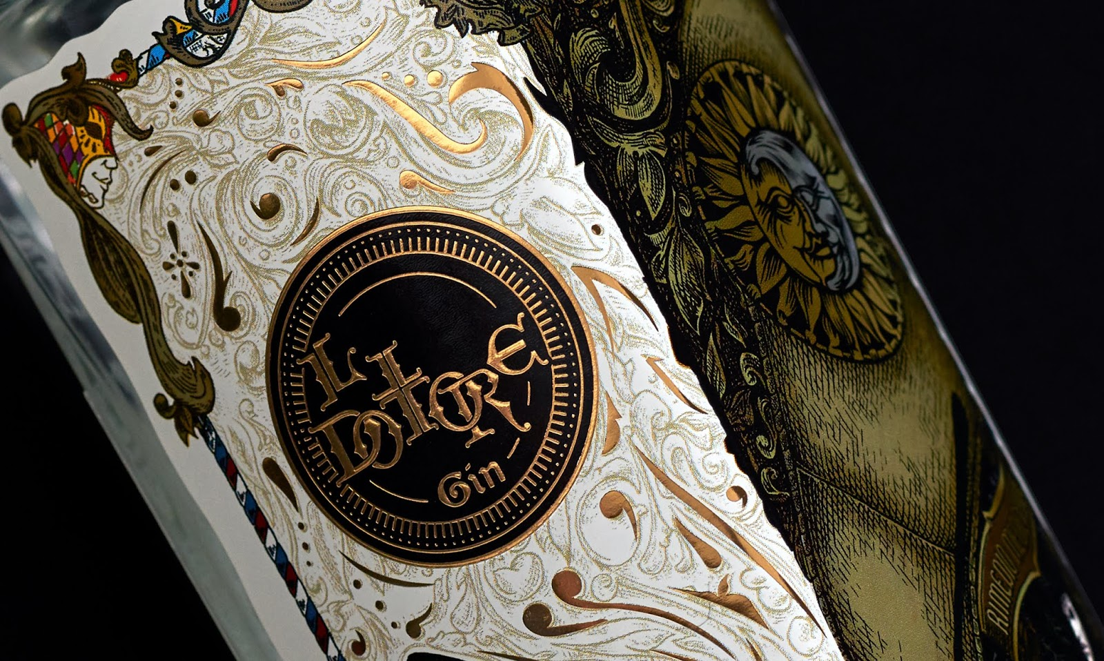Il Dottore Gin On Packaging Of The World Creative Package Design
