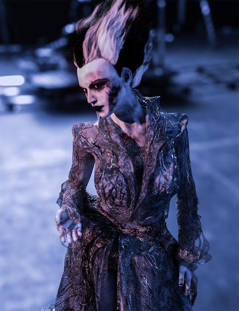 Monster Bride HD for Genesis 8 Female