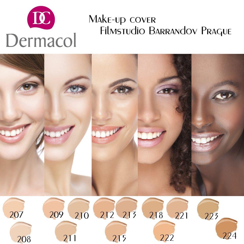Dermacol tonos de maquillaje