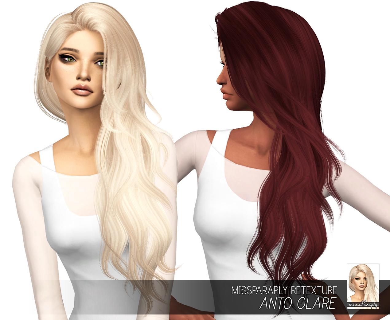 Sims 4 Hair Retexture