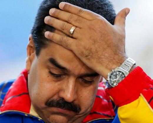 """Adiós """"revolución"""": Aprobación de Maduro cae a 21,2 % en julio"""