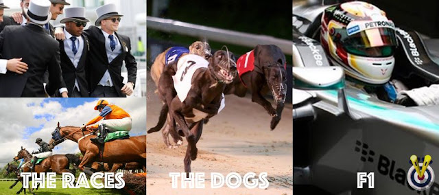 Horse Racing, Dog Racing & F1