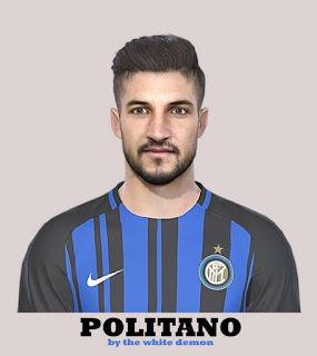 PES 2019 Faces Matteo Politano by The White Demon