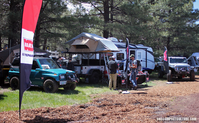 The WARN booth at Overland Expo 2016