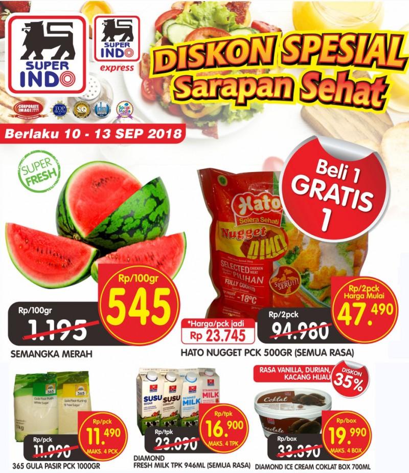 Superindo - Katalog Promo Periode 10 - 13 September 2018