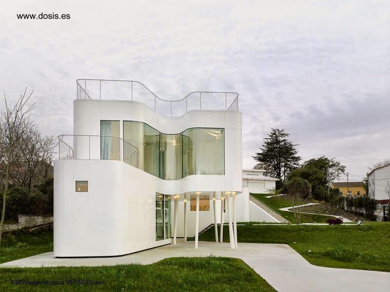 Casa moderna vanguardista en La Coruña