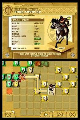 Strategy game on 3DS