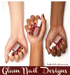 Glam Nail Colors and Nail Designs For Fall and Winter.