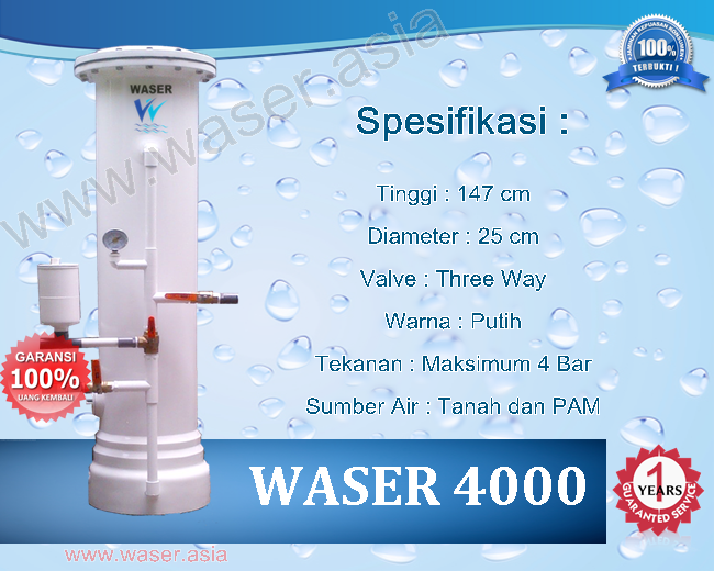Filter Penjernih Air WASSER 4000