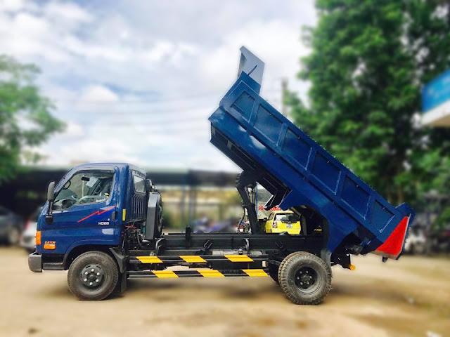 Xe tải ben Hyundai HD88 Đô Thành