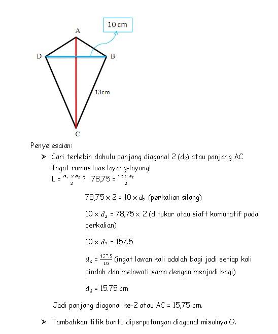 Diagonal Layang Layang : diagonal, layang, Belajar:, Mencari, Salah, Layang-layang