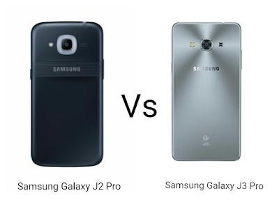 Samsung Galaxy J2 Pro  vs Samsung Galaxy J3 Pro