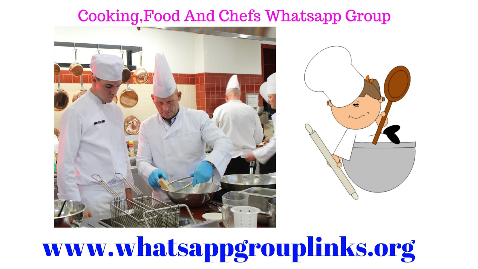 Join Cooking Food And Chefs Whatsapp Group Links List