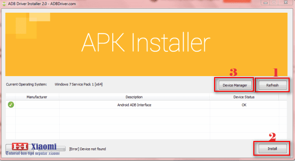 Cara Install Android USB Driver Xiaomi Di Laptop / Komputer Windows