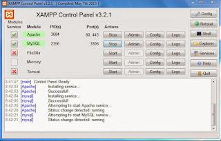Membuat localhost server di komputer atau laptop 8