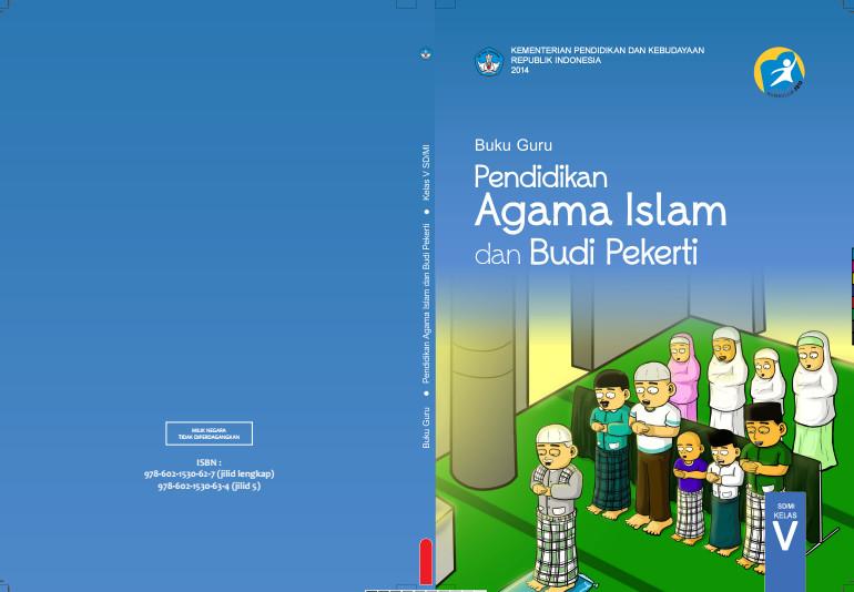 Download Gratis Buku Guru Pendidikan Agama Islam dan Budi Pekerti Kelas 5 SD Kurikulum 2013 Format PDF