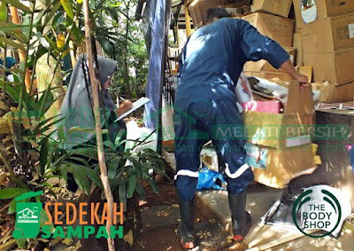Sedekah Sampah The Body Shop Indonesia