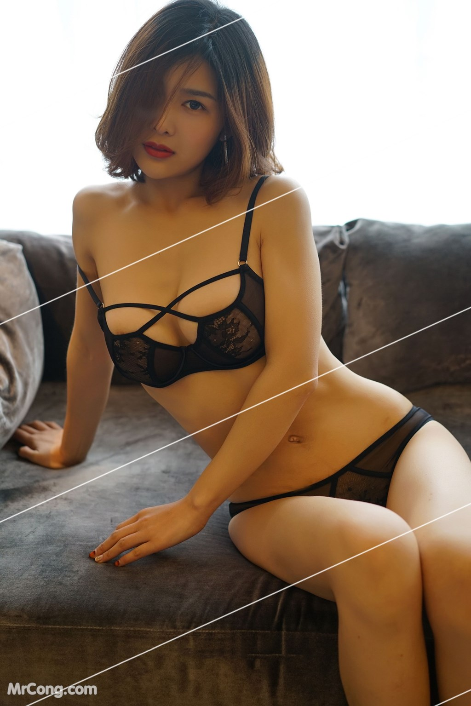 Image Yan-Pan-Pan-Part-3-MrCong.com-004 in post Ngắm vòng một siêu gợi cảm với nội y của người đẹp Yan Pan Pan (闫盼盼) (51 ảnh)
