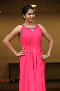 atri Rema Pictures in Pink Dress at Oruthal Movie Press Meet  ~ Celebs Next