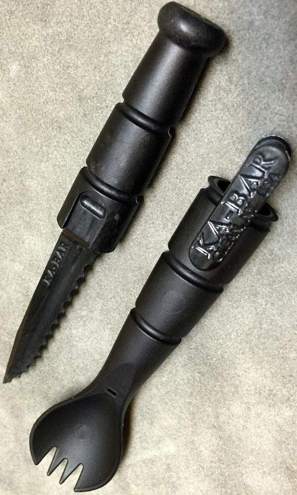 Ka-Bar Tactical Military Sporks
