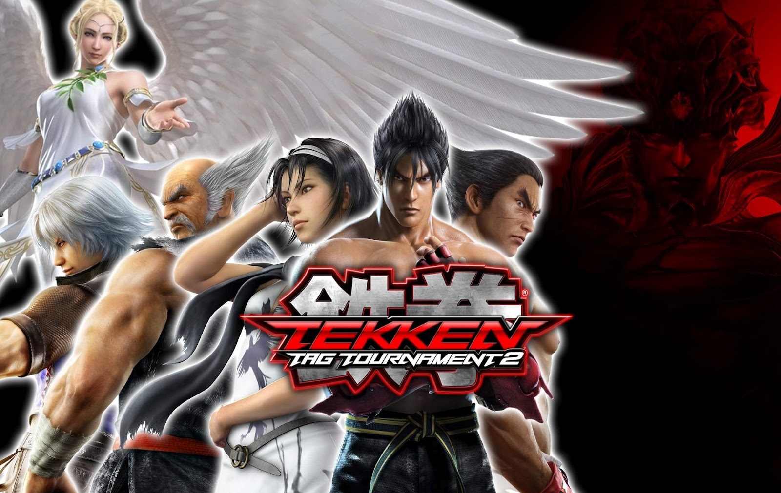 Black And White Wallpapers Tekken Tag Tournament 2 Characters
