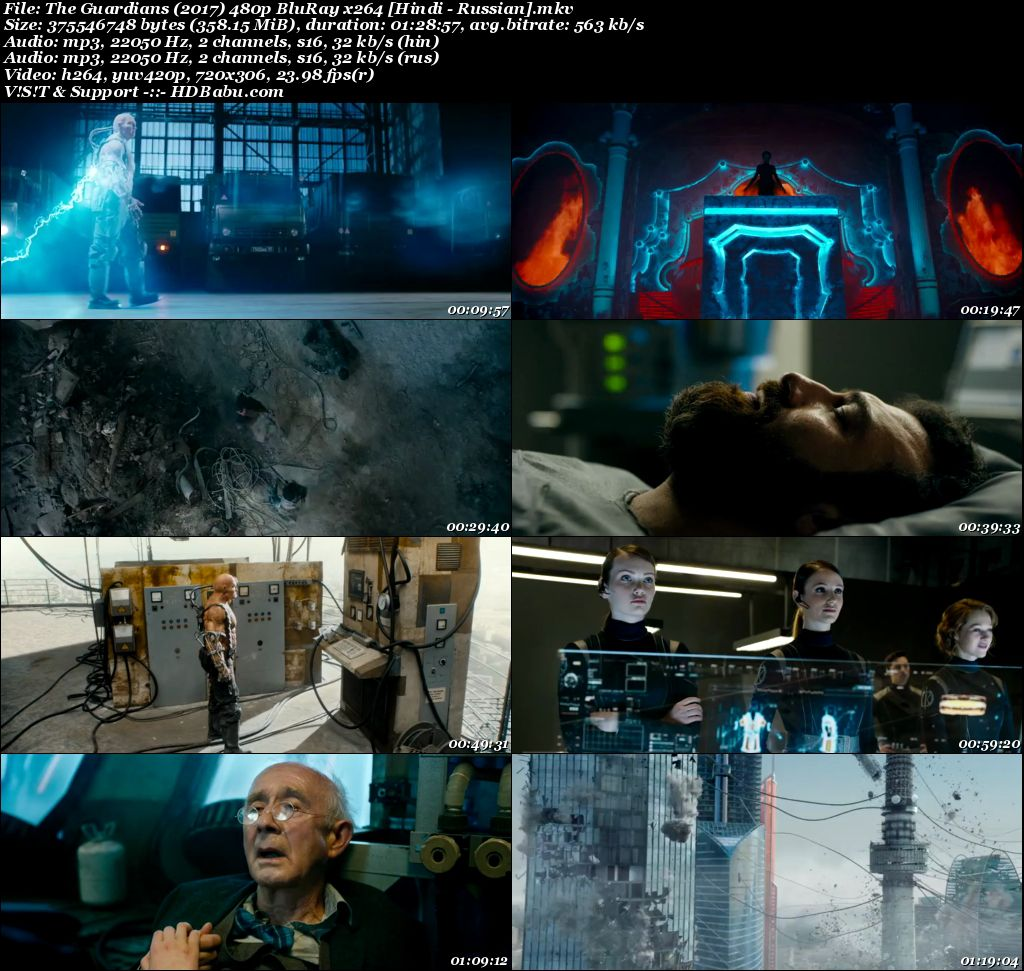 The Guardians (2017) 480p BluRay x264 [Hindi - Russian] Screenshot