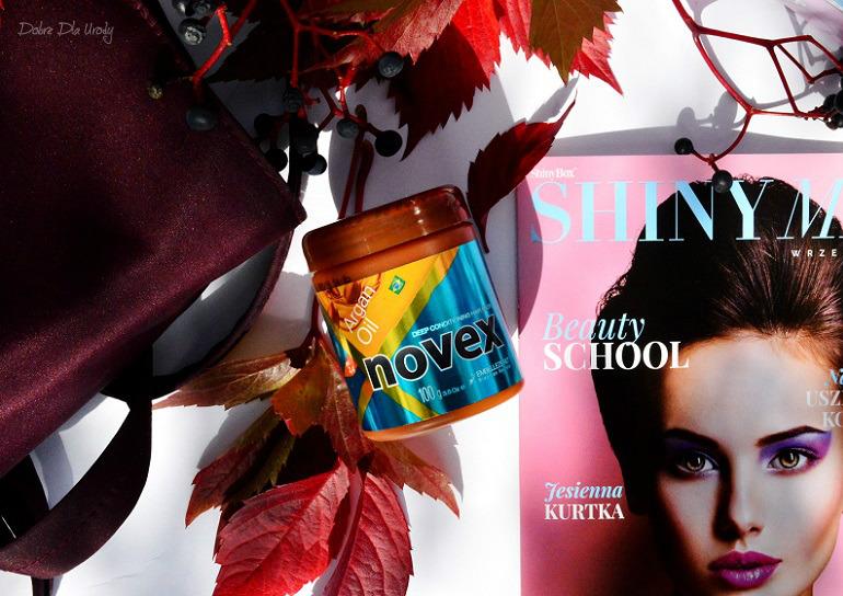 Beauty School by ShinyBox - Novex Deep moisture hair mask Argan Oil