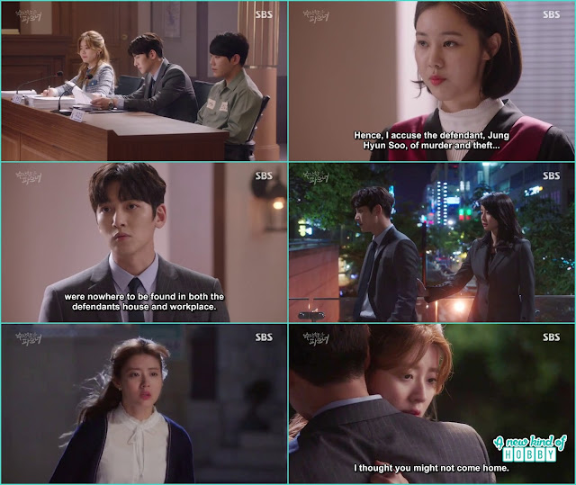 bong hee confess she likes ji wook but he ask don't fall for me - Suspicious Partner: Episode 11 & 12 korean drama