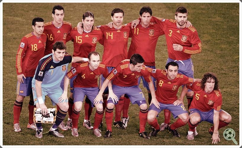 5705c5b467 Seleções de que Gostamos  Espanha 2008-2012