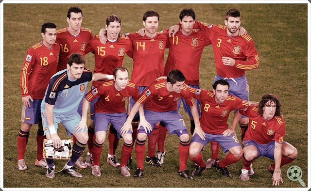Spain Squad World Cup 2010