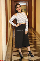 Manjusha in sleevelss crop top and black skirt at Darshakudu pre release ~  Exclusive Celebrities Galleries 055.JPG