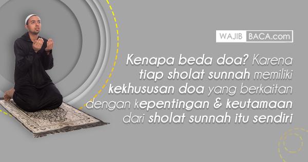 Kumpulan Doa Setelah Sholat Sunnah, Lengkap dengan Latin dan Artinya