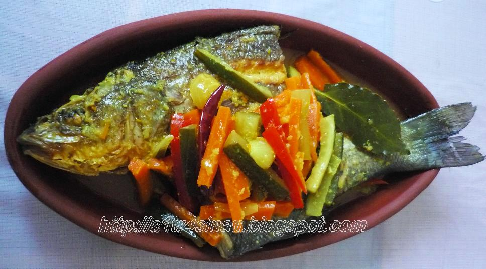 Citra 39 s home diary resep ikan acar kuning indonesian for Pickled fish recipes