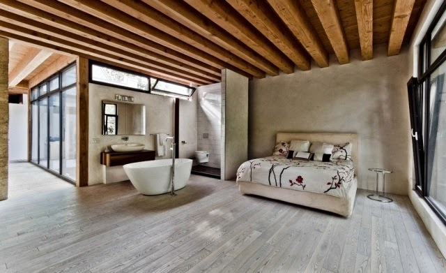cuarto con bañera