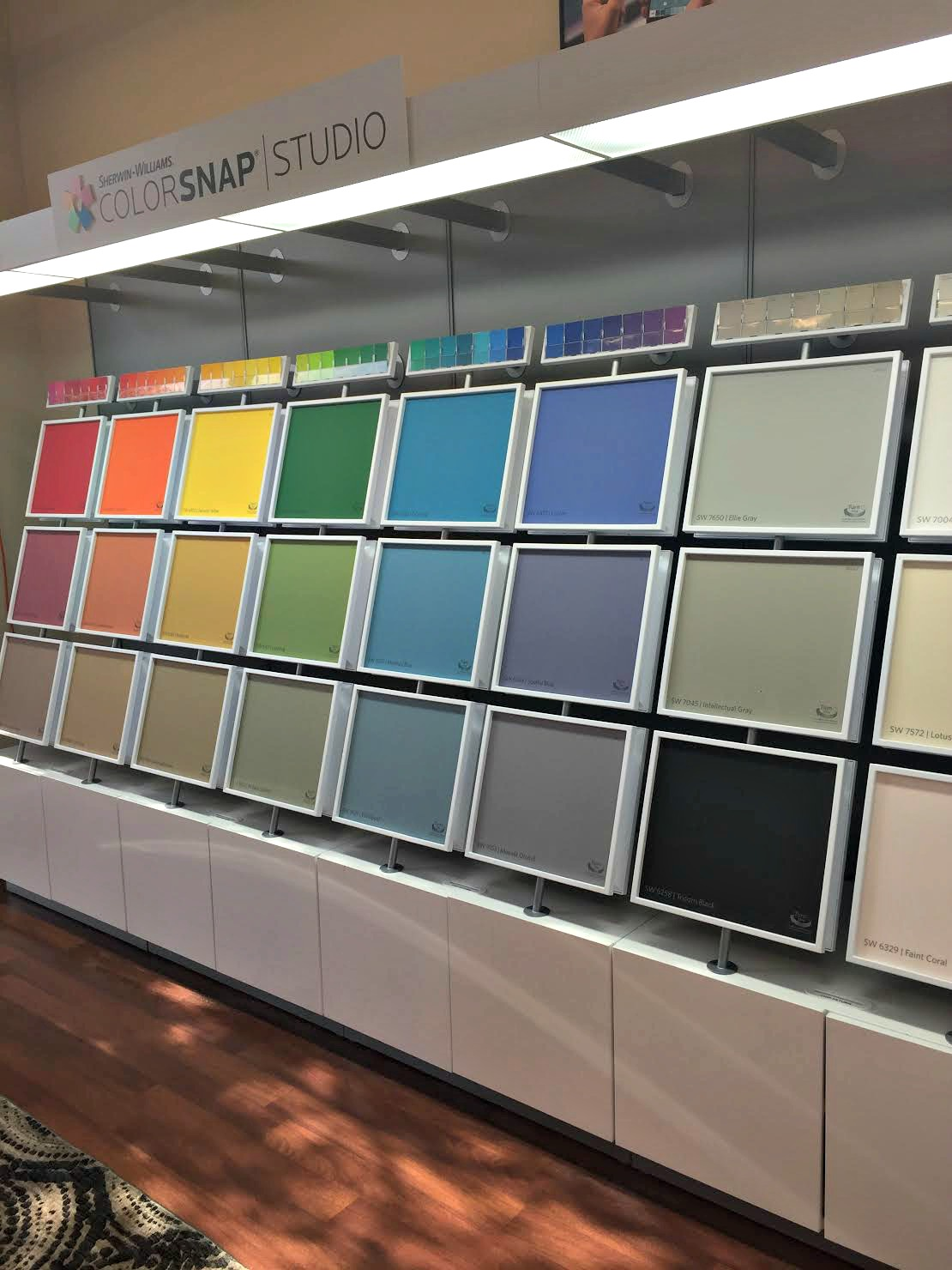 Picking Out Paint Colors With The Colorsnap System At Sherwin Williams