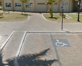Estacionamento Preferencial para idosos e deficientes físicos em Cristalina