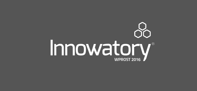 Logo konkursu Innowatory Wprost 2016