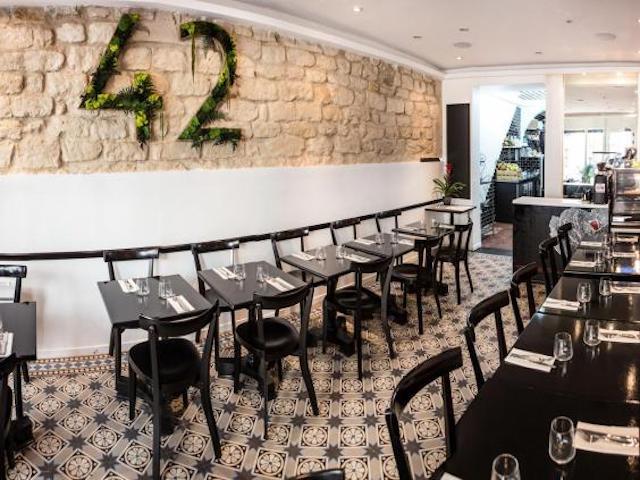 Restaurante 42 Dégres em Paris