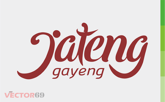 Jateng Gayeng - Download Vector File CDR (CorelDraw) X4