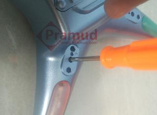 syma indonesia, cara membongkar casing, kesing drone syma X5HW - pramud.com