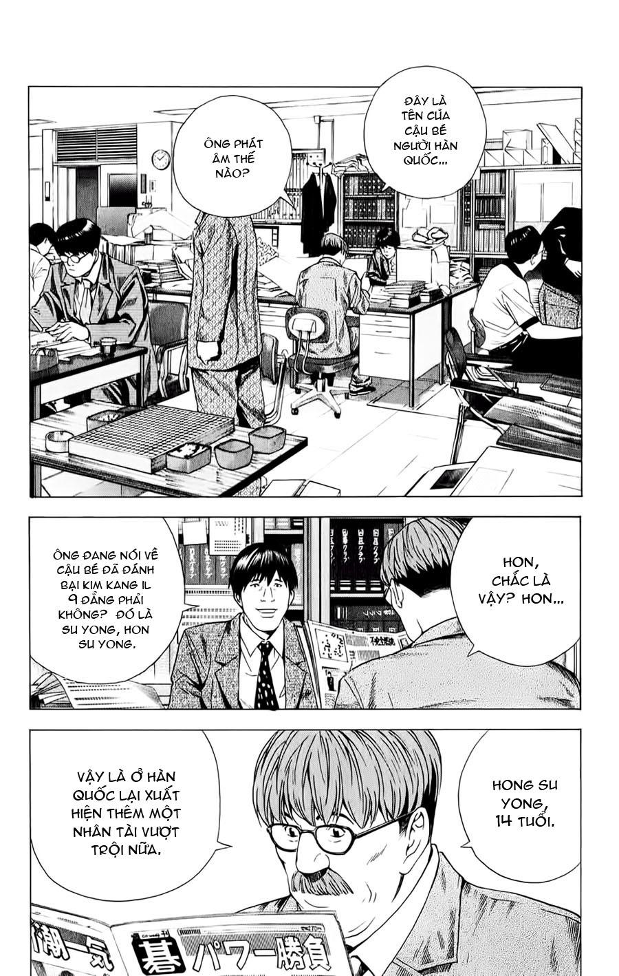 Hikaru No Go hikaru no go chap 146 trang 7