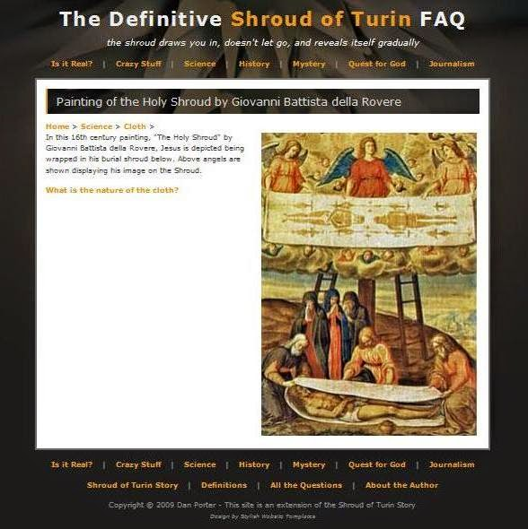 science buzz: The definitive answer to the Shroud of Turin