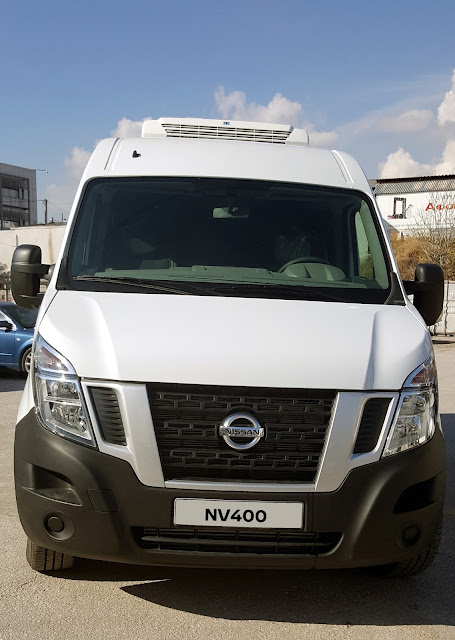 Φορτηγό NV400 με ψυκτικό θάλαμο