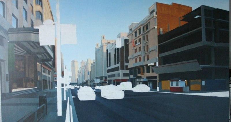 Imágenes Arte Pinturas: Como Pintar Paisaje Urbano