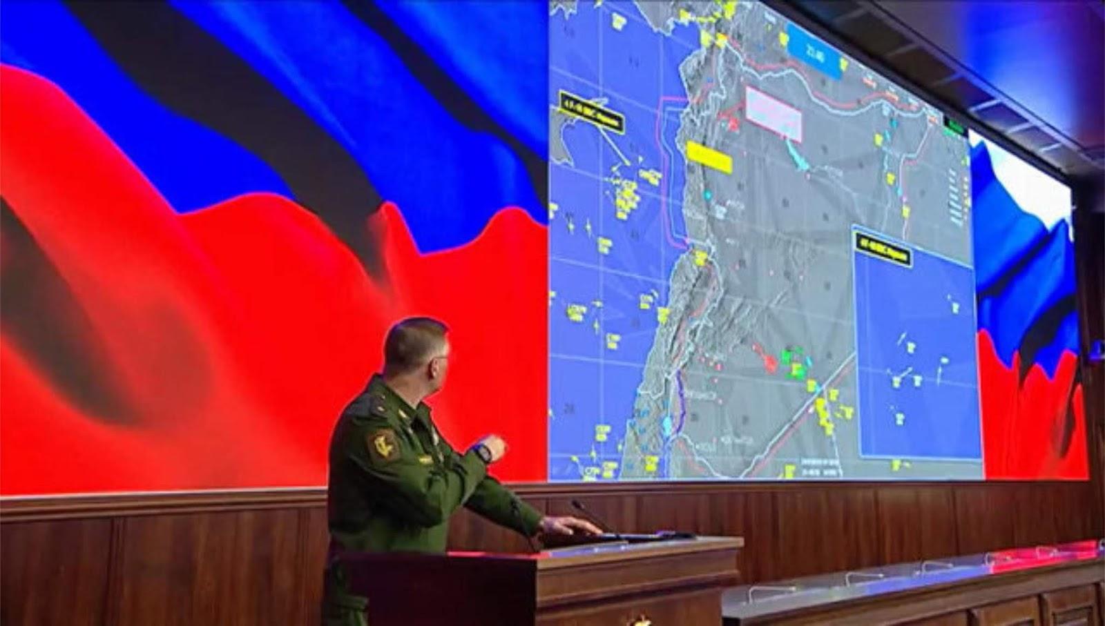 Kementerian Pertahanan Rusia menyajikan kronologi kecelakaan Il-20