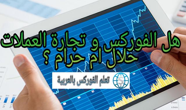 الفوركس و تداول العملات حلال ام حرام