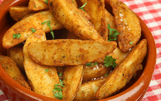 Spicy Potatoes (Baharatli Patates)